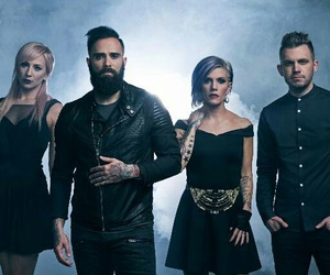 skillet, band, and music image