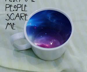 cup, galaxy, and tumblr image