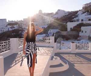 fashion, girl, and Greece image