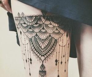 tattoo and leg image