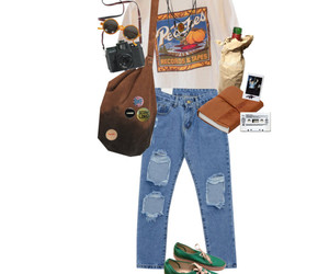 outfit, grunge, and Polyvore image
