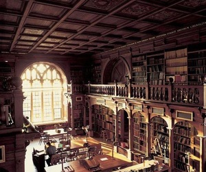 book, library, and oxford image