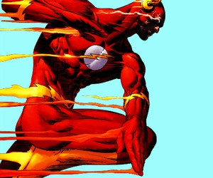 barry, flash, and dc comics image