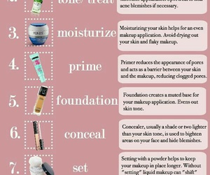 beauty, Foundation, and makeup image