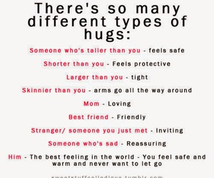 hug, him, and quote image