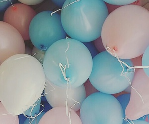 art, helium, and party image