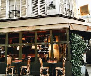 cafe, french, and classic image