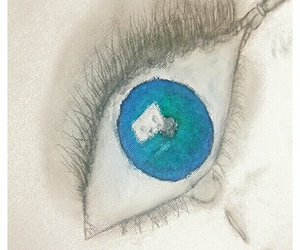 auge, blue, and picture image