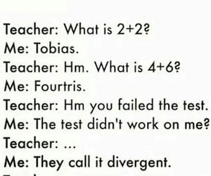 divergent, four, and tobias image