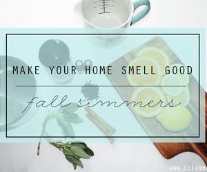 fall, good smell, and simmers image