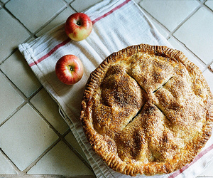apple, food, and pie image