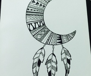 doodle and dream catcher image