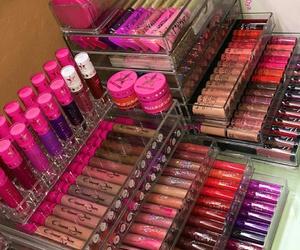 makeup and lipstick image