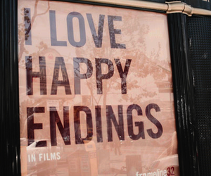 love, happy, and happy endings image