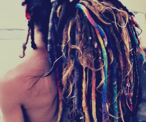 beaded, boy, and dreads image
