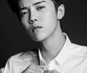 black and white, cool, and handsome image