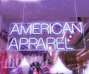 american apparel, grunge, and neon image