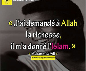 islam and mohammed ali image