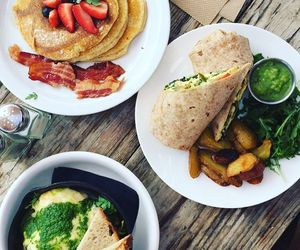 food, breakfast, and fitness image