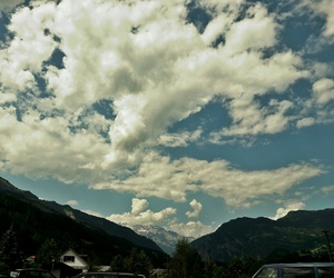 chill, clouds, and nature image