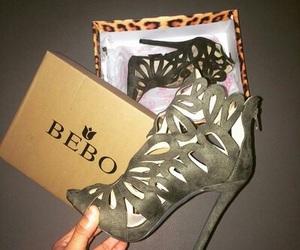 bebo, heels, and shoes image