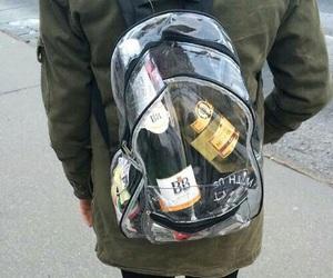 alcohol, bag, and grunge image