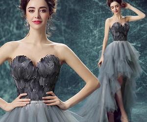dress and girl image