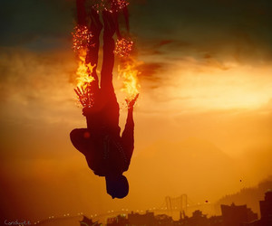 video games, infamous, and ps4 image