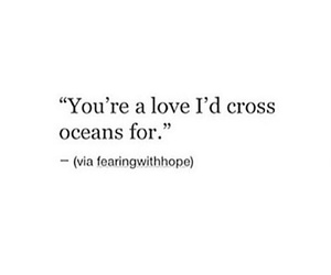 him, quote, and love image