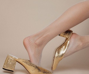 shoes and gold image