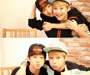 xiumin, exo, and mark image