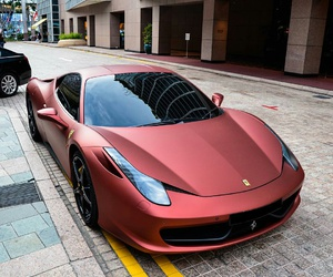 car, ferrari, and luxury image