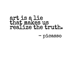 quote, art, and picasso image
