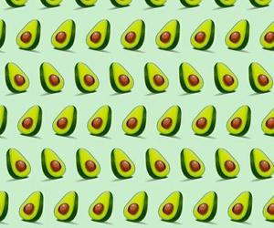 avocado, background, and fruit image