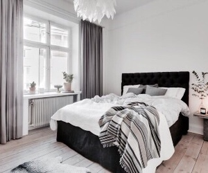 bed, design, and white image