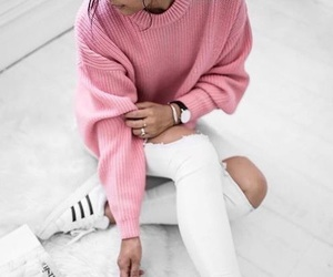 fashion, adidas, and pink image
