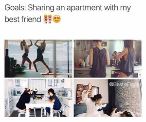 goals, friends, and best friends image