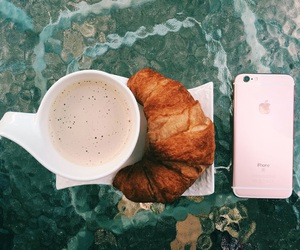 breakfast, coffee, and Late image