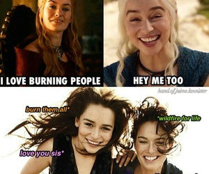 game of thrones, cersei lannister, and funny image