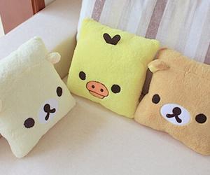 kawaii, rilakkuma, and pillow image