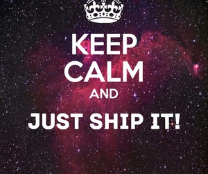 keep calm, ship it, and my motto image