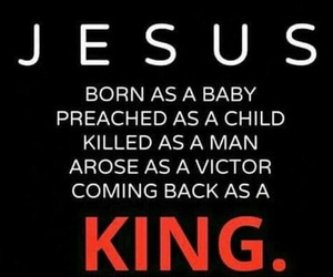 bible, king, and god image