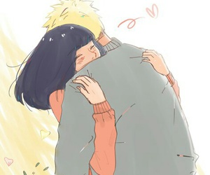 naruhina, naruto, and anime image
