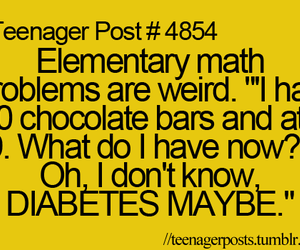 funny, math, and quote image