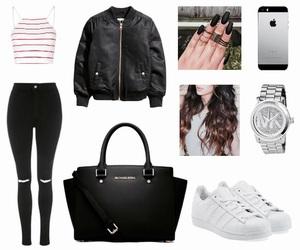 adidas, bag, and bomber image