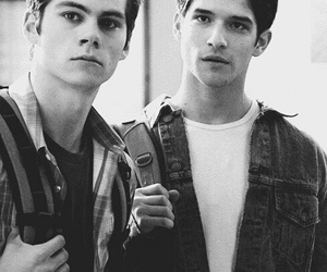 mccall, dylan o'brien, and teen wolf image
