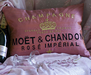 moet, champagne, and pink image