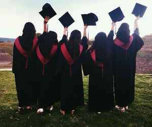 bff, goals, and graduation image