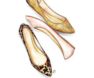 shoes, fashion, and art image