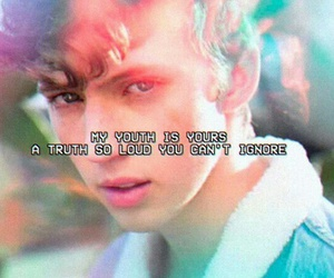 troye sivan, Lyrics, and youth image